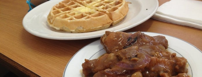 Auntie April's Chicken & Waffles is one of food.