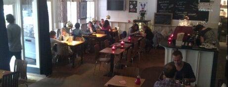 Eetcafé de Brakke Grond is one of Old buildings with taste in Amsterdam.