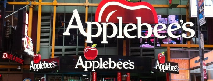 Applebee's Times Square is one of Lets go 200.