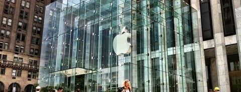 Apple Store, Fifth Avenue is one of If You're A Tourist in NYC....
