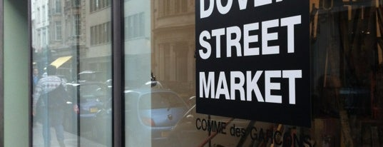 Dover Street Market is one of London shopping.