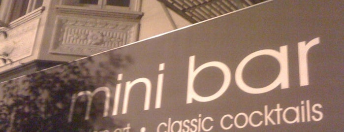 Mini Bar is one of SF reccomends.