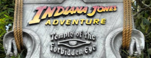 Indiana Jones Adventure is one of Rides I Done...Rode.