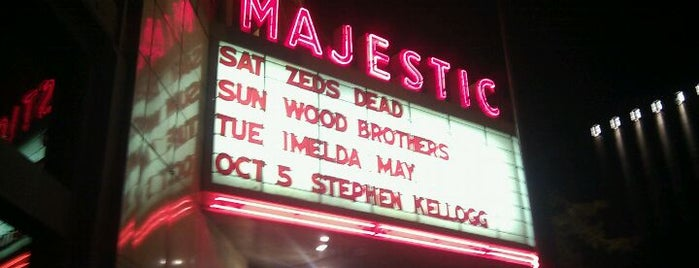 Majestic Theatre is one of Great spots around Madison.
