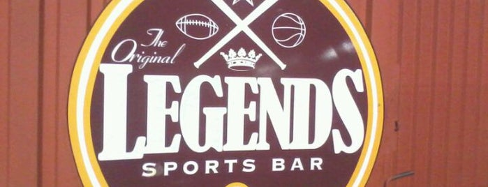 The Original Legends Sports Bar & Grill is one of Guide to Union City's best spots.