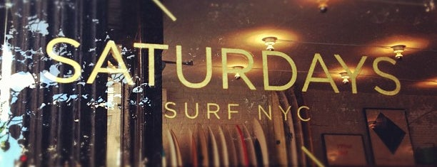 Saturdays Surf NYC is one of NYC.