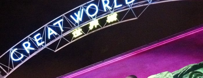 Great World City is one of Retail Therapy Prescriptions.