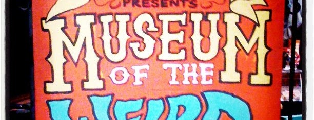 Museum Of The Weird is one of Austin's Best Museums - 2012.