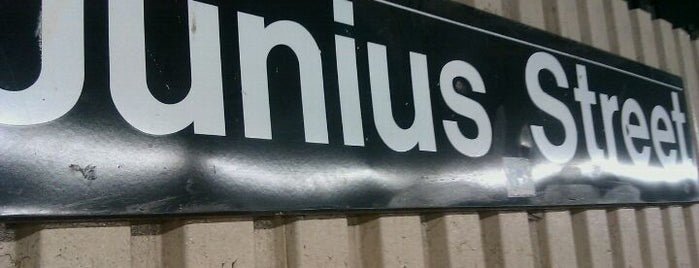 MTA Subway - Junius St (3) is one of NYC Subways 4/5/6.