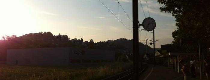 WSB Gränichen Töndler is one of Bahnhöfe Top 200 Schweiz.