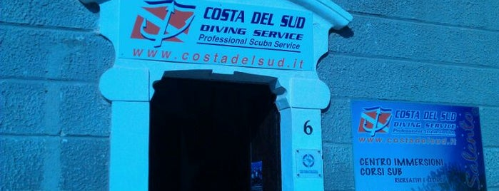 Costa del sud diving is one of ITALY BEACHES.