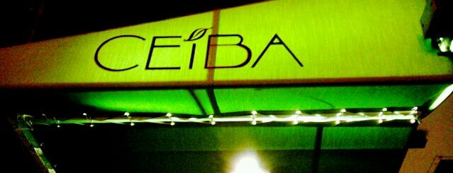 Ceiba is one of DC favorites.