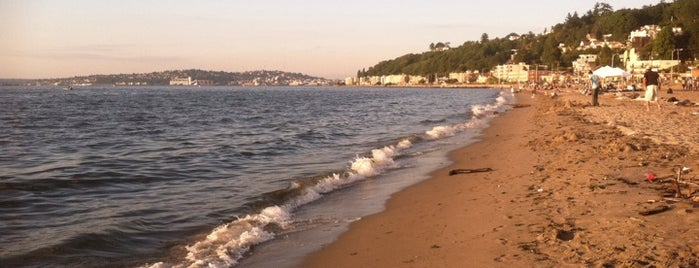 Alki Beach Park is one of Find Well-being in the City.
