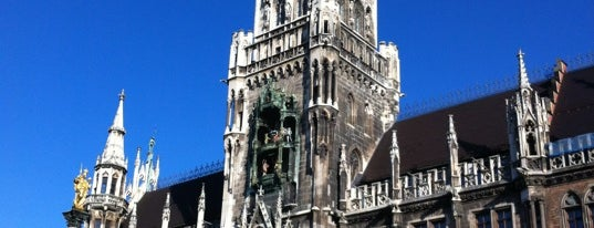 Marienplatz is one of Munich And More.