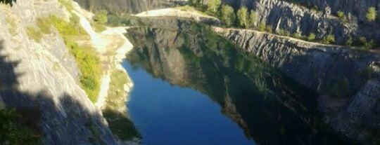 Velká Amerika is one of Doly, lomy, jeskyně (CZ).