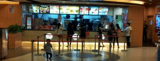 Burger King is one of most visited places in jakarta.