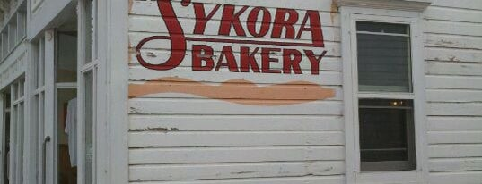 Sykora Bakery is one of Places from the reporting trail.