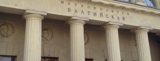 metro Baltiyskaya is one of Метро Санкт-Петербурга.