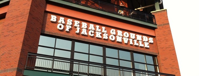 Baseball Grounds of Jacksonville is one of MiLB Southern League.