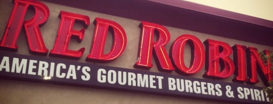 Red Robin Gourmet Burgers is one of Places to go in Roanoke.