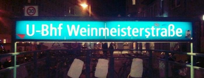 U Weinmeisterstraße is one of Besuchte Berliner Bahnhöfe.