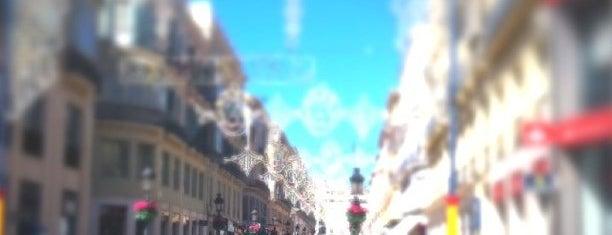 Marqués de Larios Street is one of 101 cosas que ver en Andalucía antes de morir.