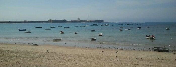 La Caleta Beach is one of 101 cosas que ver en Andalucía antes de morir.