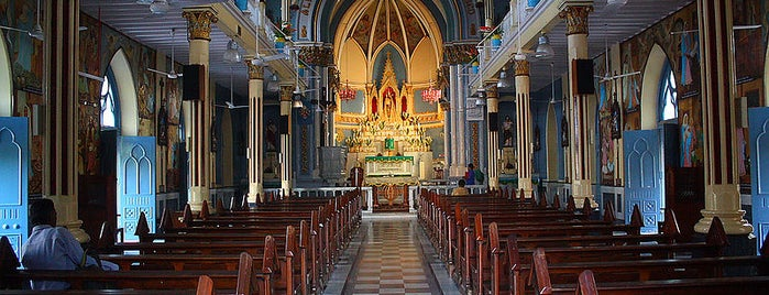 Mount Mary Church (The Basilica of Our Lady of the Mount) is one of Mumbai Maximum.