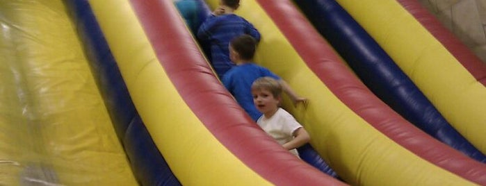 Sir Bounce-A-Lots is one of Family fun!.