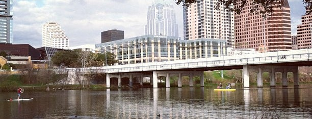 Auditorium Shores at Lady Bird Lake is one of Speakmans SXSW Venues in Austin.