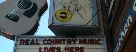 Ernest Tubb Record Shop is one of 11 Cool Places in Nashville You Really Must Visit.