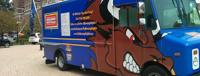 The Roaming Buffalo Food Truck is one of Buffalo, NY Food Trucks.