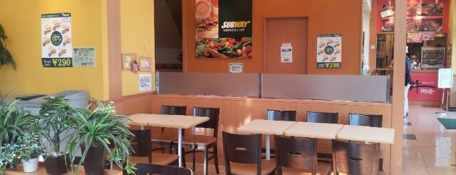SUBWAY 御殿場駅前店 is one of SUBWAY中部 for Sandwich Places.