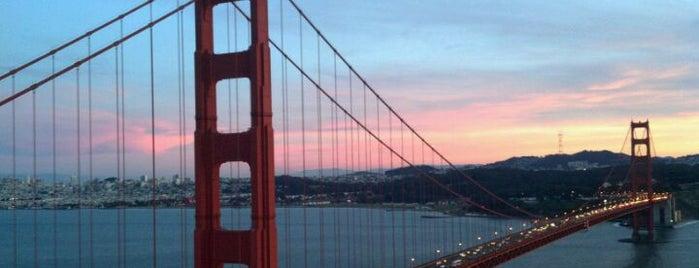 Golden Gate Bridge is one of Bridges of the Bay Area.