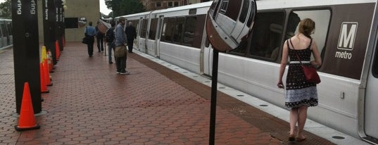 Silver Spring Metro Station is one of WMATA Red Line.
