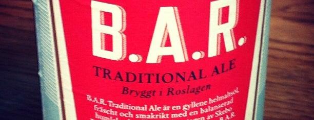 B.A.R. Blasieholmens Akvarium o Restaurang is one of Stockholm - to see.