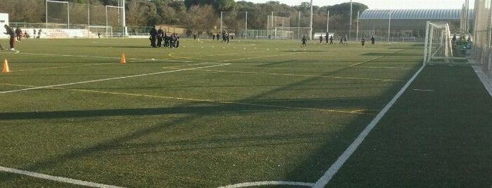Polideportivo Municipal Boadilla is one of Campos de futbol donde jugamos :).