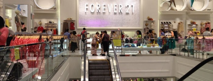 Forever 21 is one of NYC to do.