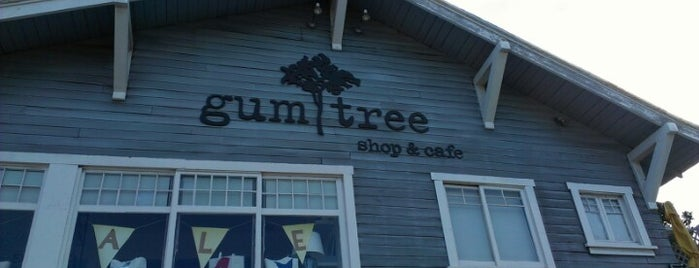 The Gum Tree Cafe & Boutique is one of Ryan & Rebecca To Do.