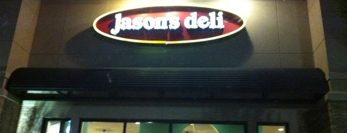 Jason's Deli is one of North Ga chill spots.