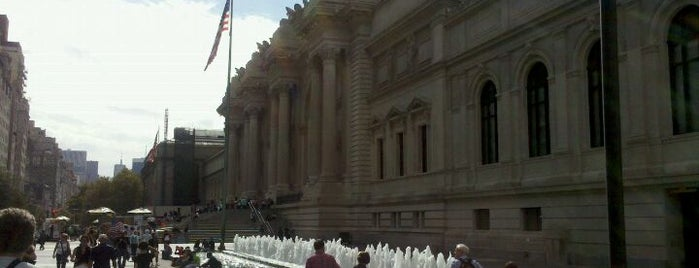 The Metropolitan Museum of Art is one of Uptown Art & Design Museums.