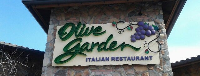 Olive Garden is one of Secaucus.
