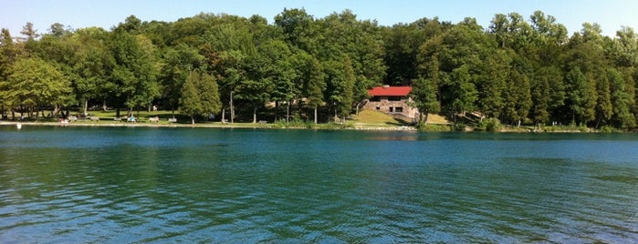 Green Lakes State Park is one of Ash's 'Cuse Hot Spots.