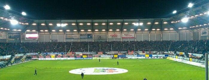 Benteler-Arena is one of Stadiums.