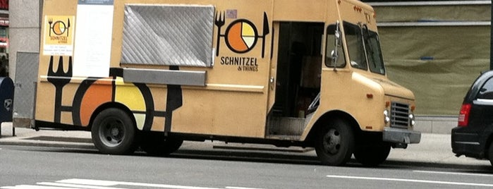 Schnitzel & Things is one of NYC Food Trucks.