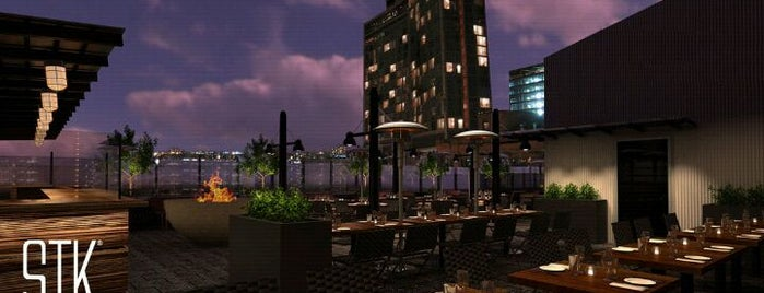 STK Rooftop is one of GW/NY Drinks.