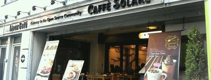 カフェ ソラーレ (CAFFE SOLARE) リナックスカフェ 秋葉原店 is one of 秋葉原エリア.