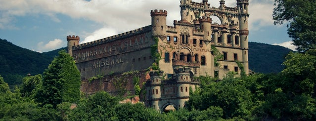 Bannerman Island (Pollepel Island) is one of Abandoned NYC.