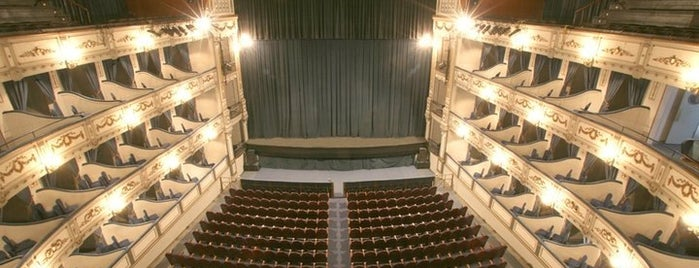 Teatro Cervantes is one of Málaga.