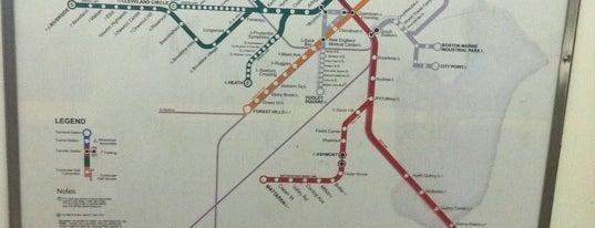 MBTA State Street Station is one of Boston MBTA Stations.